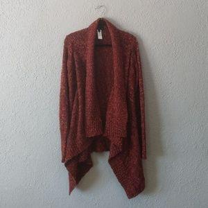 Jeans by Buffalo burnt orange sweater cardigan L